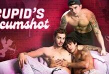 Cupid's Cumshot: Carter Woods, Elliot Finn & Dakota Payne (Bareback)