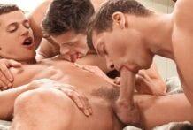 Rhys Jagger, Julien Hussey & Jean-Daniel (Bareback)