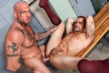 Skin Deep And Hard! Sean Duran & Damien Crosse (Bareback)