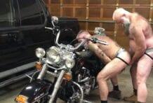 Biker Bears Garage, Part 1 (Bareback)