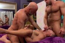 Full Scene: Adam Russo & Jack Andy breed Jkab Ethan Dale (Bareback)