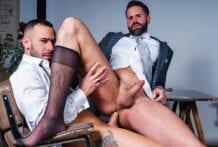 Servicing The Boss: Dani Robles & Gustavo Cruz (Bareback)