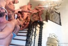 The Lost Weekend, Orgy At The Gayboy MANsion