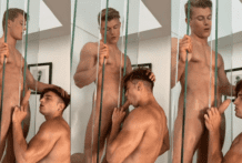 Sucking His Dick And Then Throwing His Load All Over My Face!!