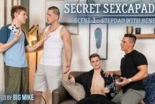 Secret Sexcapades, Scene 1: Stepdad With Benefits, Roman Todd & Jack Bailey (Bareback)