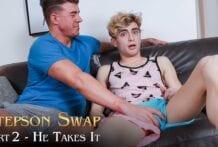 Stepson Swap, Part 2: He Takes It! JJ Knight & Jesse Bolton (Bareback)