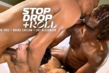 Stop, Drop & Roll: Devin Trez, Jay Alexander & Roxas Caelum (Bareback)