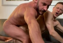 Couch flip fuck (with Starlen Gold), Part 2 (Bareback)