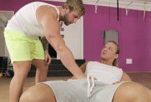 Help at the Gym: Brick Morewood & Ondrej Oslava (Bareback)