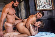 Robert Royal And Massimo Arad Double-Fuck Dann Grey (Bareback)