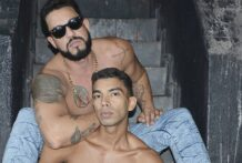 Tio Breno (Brenão) e Miguel Araújo (Bareback)