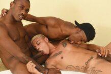 Três Cariocas: Flavio Souza, Reyzinho e HP Menezes (Bareback)
