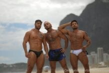 Alejo Ospina & Daniel Montoya, THREESOME VIDEO BBK CREAMPIE (Part 1)