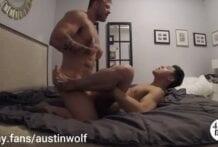 Austin Wolf fucks Jaesyun, Mashup of 3 Scenes