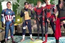 Avengers Orgy, Halloween Group Show