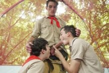 Better Than A Hike: Dakota Lovell, Jack Andram and Joshua Kelly (Bareback)