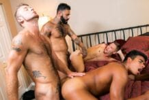 Boys Trip, Part 3: Jay Seabrook, Chad Taylor, Rikk York & Johnny Hunter (Bareback)