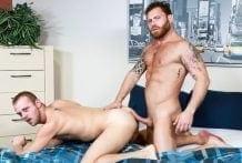 Big Morning Boner: Chandler Scott & Riley Mitchel (Bareback)