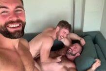 Griffin Barrows, Bull Barrett & Gabriel Cross (Bareback)