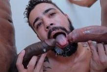Desafio Hot Big Dick com Nerd Carioca (Bareback)