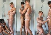 Leo Stuke (Xleox) DMs Special, Here Is The Bonus Of Full Length Of Me And Sepanta (HUNKSEP) In The Shower