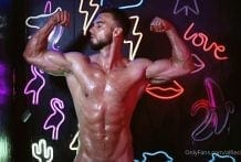 Alfred Liebl (Alfiecinematic) PayPerView Weekend Special: Oil Neon More Oil, Hard Penis & Ass