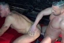 The Daddy Marc Ferrer Fucked Raw by the pornstar Gabriel Lunna