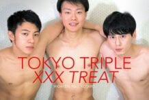 Tokyo Triple XXX Treat: Higaken, Fuji & Kotaro