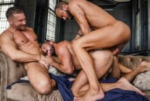 Tomas Brand And Sir Peter Spit-Roast Marco Napoli (Bareback)