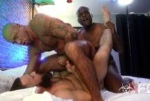 Triple Daddy Dickdown (Bareback)
